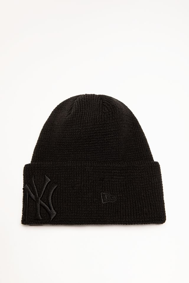 New Era LEAGUE ESSENTIAL CUFF KNIT 632 BLACK 12134632