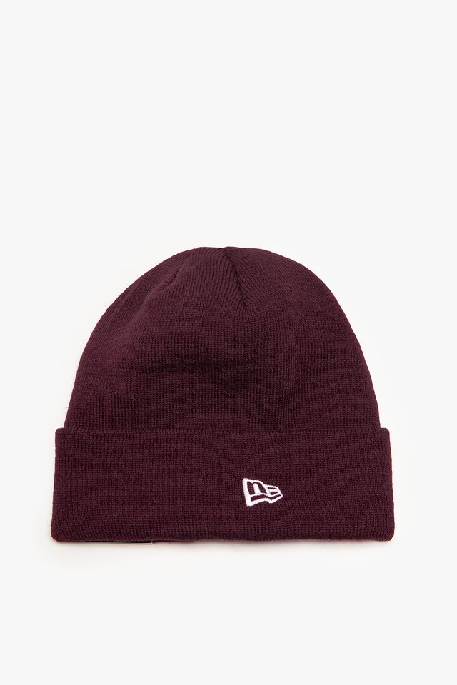 New Era NE ESTL KNIT 751 BURGUNDY 12134751