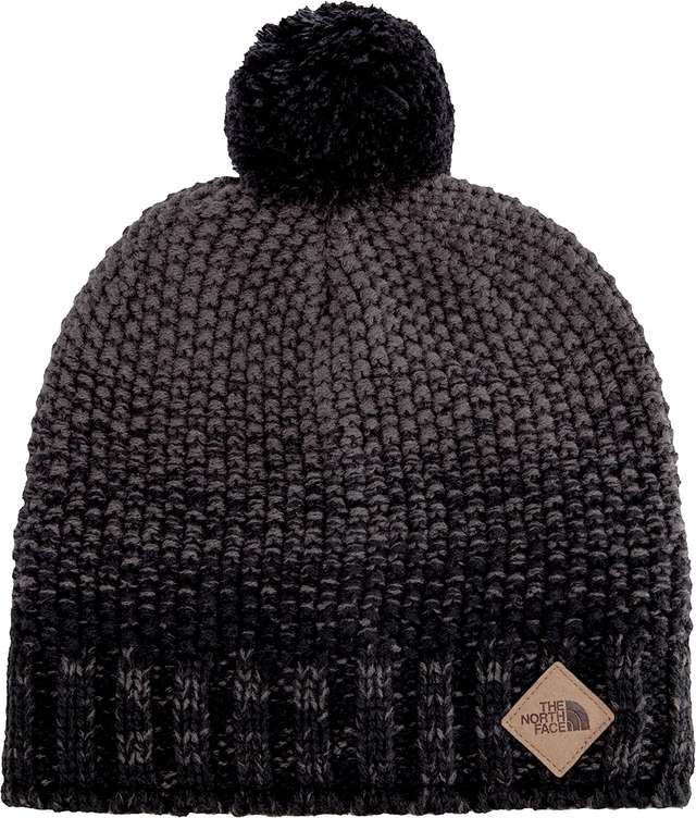 The North Face ANTLERS BEANIE TNF BLACK/GRAPHITE GREY T93FIBKU6
