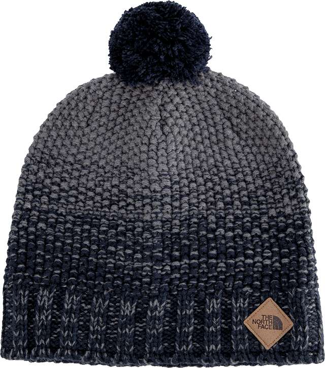 The North Face ANTLERS BEANIE URBAN NAVY/TNF M GREY HEATHER T93FIB2RR