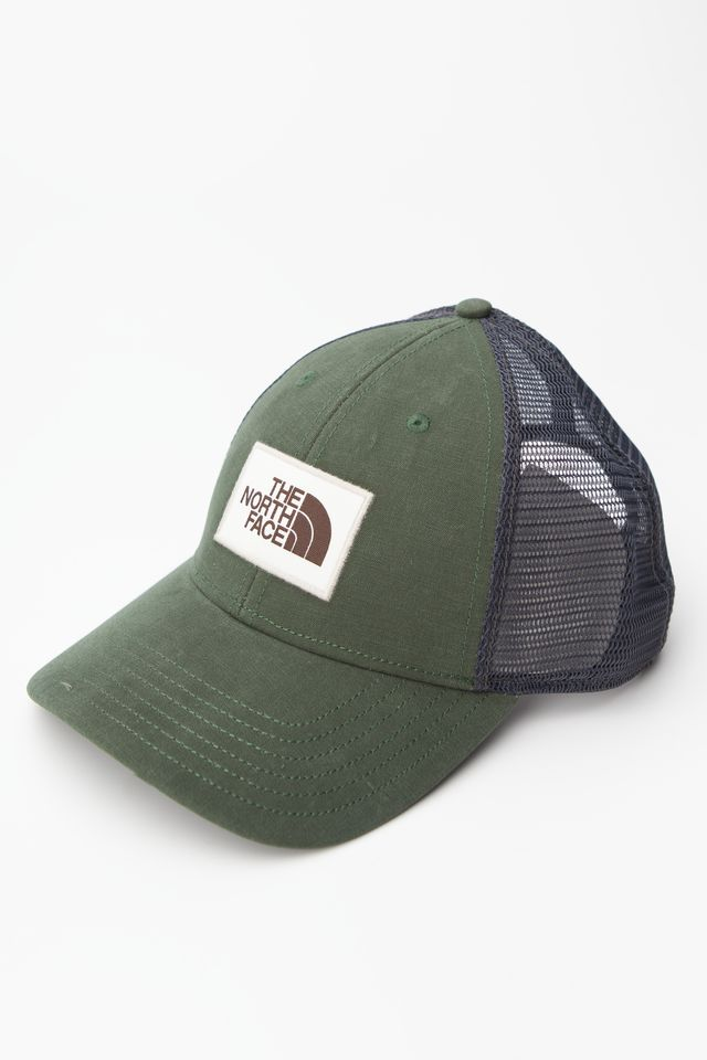 The North Face MUDDER TRUCKER HAT HR8 NIGHT GREEN/VINTAGE WHITE NF00CGW2HR81