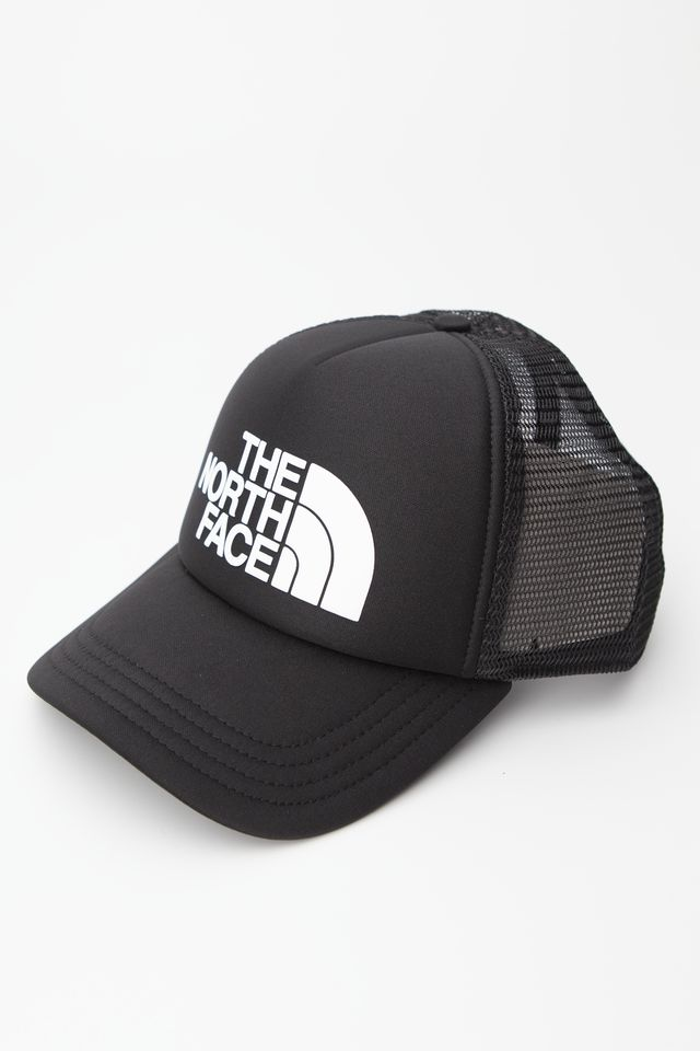 The North Face TNF LOGO TRUCKER KY4 TNF BLACK/TNF WHITE NF0A3FM3KY41