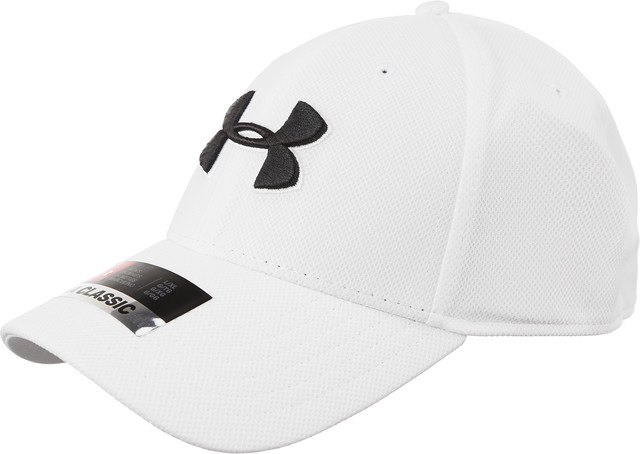 Under Armour MEN'S BLITZING 3.0 CAP 100 WHITE 1305036-100
