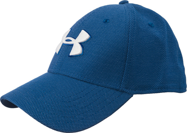 Under Armour MEN'S HEATHERED BLITZING 3.0 CAP 487 BLUE 1305037-487