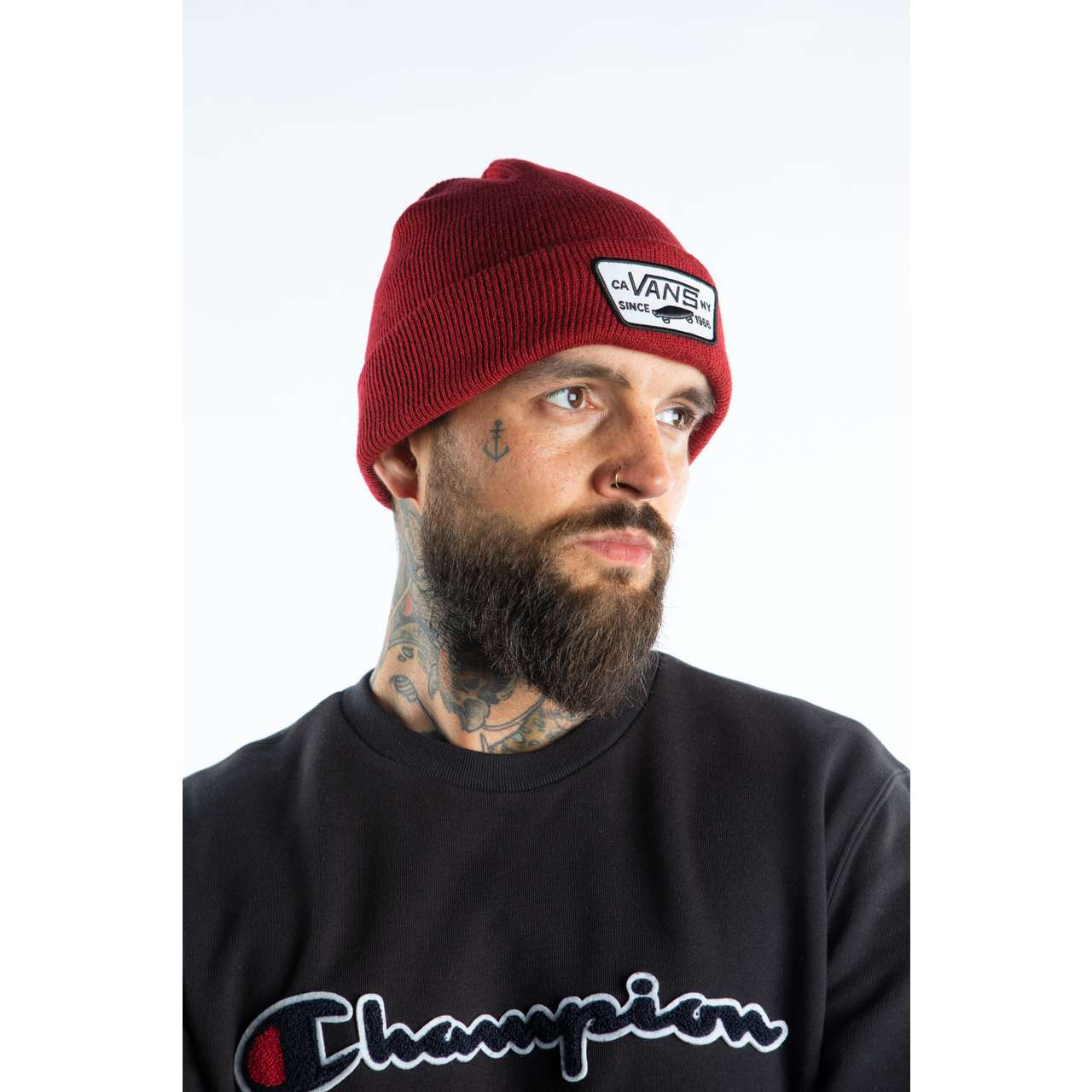 Czapka Vans  <br/><small>Milford Beanie Biking Red </small>  VN000UOU1OA1