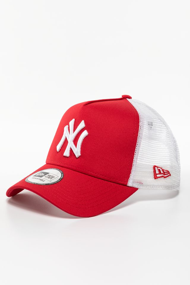 RED/WHITE CLEAN TRUCKER 488