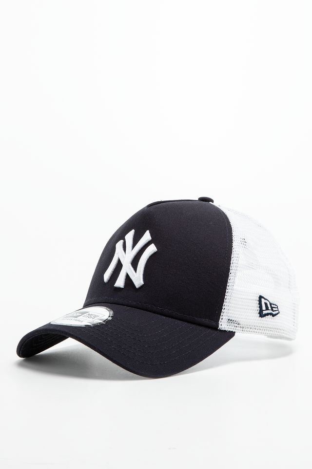 NAVY/WHITE CLEAN TRUCKER 489