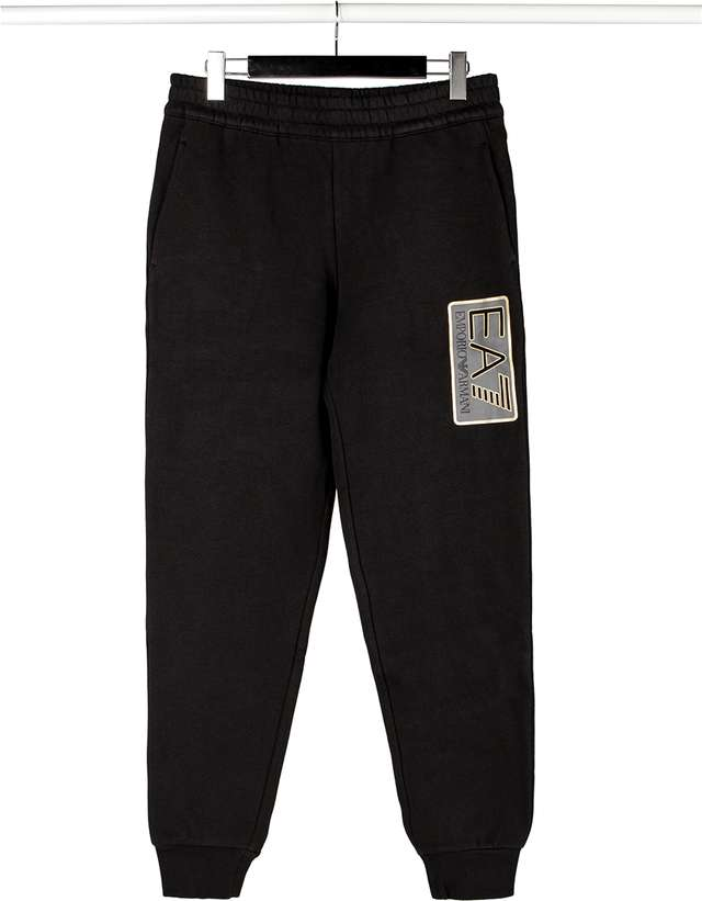 Dres EA7 Emporio Armani  <br/><small>MAN JERSEY TRACKSUIT 1200 BLACK </small>  6ZPV57PJ07Z-1200