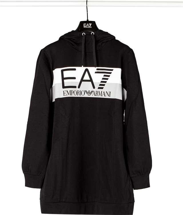 EA7 Emporio Armani WOMAN JERSEY TRACKSUIT 1200 BLACK 6ZTV59TJ31Z-1200