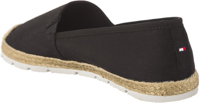 Espadryle Tommy Hilfiger  <br/><small>FLAT COTTON ESPADRILLES 990 BLACK </small>  FW0FW02409-990