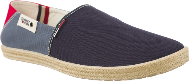 2fb5bb5c87895 Espadryle Tommy Hilfiger JEANS SUMMER SLIP ON 902 INK JEANS TANGO ...