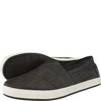 Espadryle TOMS Chambray Mens Avalon Sneaker 924
