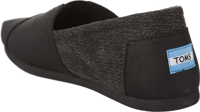 Espadryle TOMS  <br/><small>Coated Canvas Herringbone Mens Classic Alpargata 2 </small>  10009202