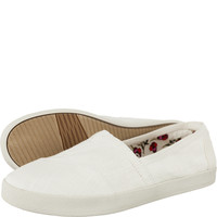 Espadryle TOMS Linen Womens Avalon Slipon 805