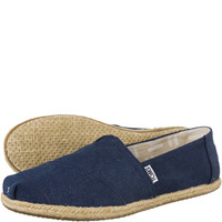 Espadryle TOMS Washed Canvas Rope Sole Womens Alpaegata 9758