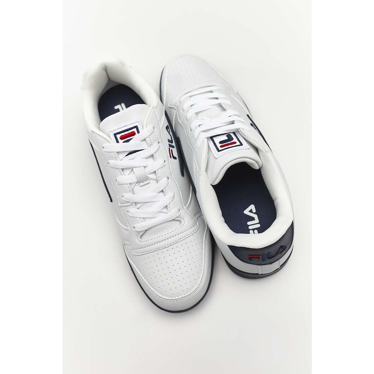 Buty Fila  <br/><small>FX100 LOW 98F WHITE/DRESS BLUE </small>  1010260-98F