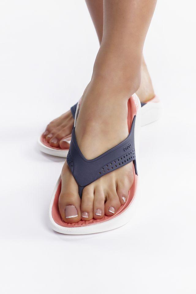 Crocs LITERIDE FLIP 4JG NAVY/MELON 205182-4JG