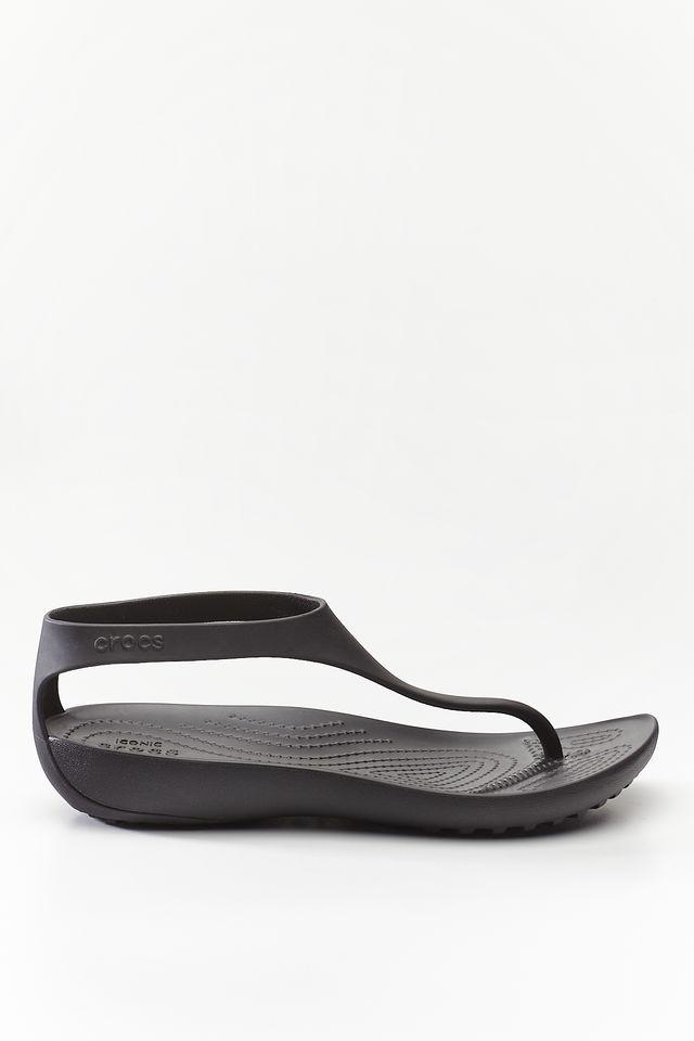 Crocs SERENA FLIP W 060 BLACK/BLACK 205468-060
