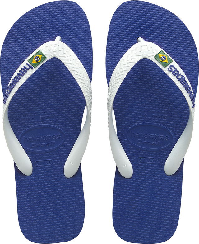 Havaianas Brasil Logo Marine Blue H41108502711