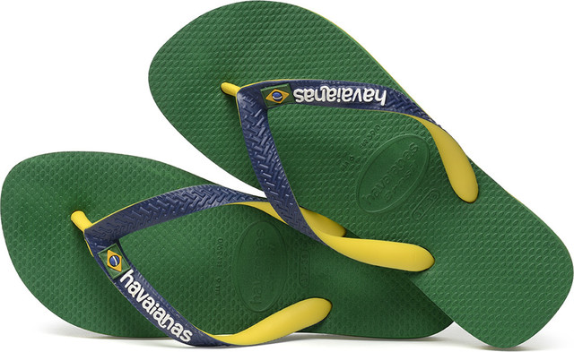 Japonki Havaianas  <br/><small>BRASIL MIX GREEN/NAVY BLUE </small>  H41232069621