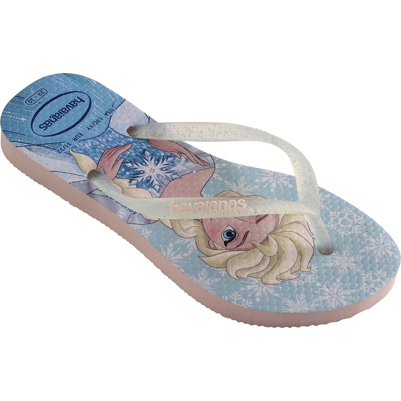 Japonki Havaianas  <br/><small>KIDS SLIM FROZEN PEARL PINK </small>  H4137266_6615