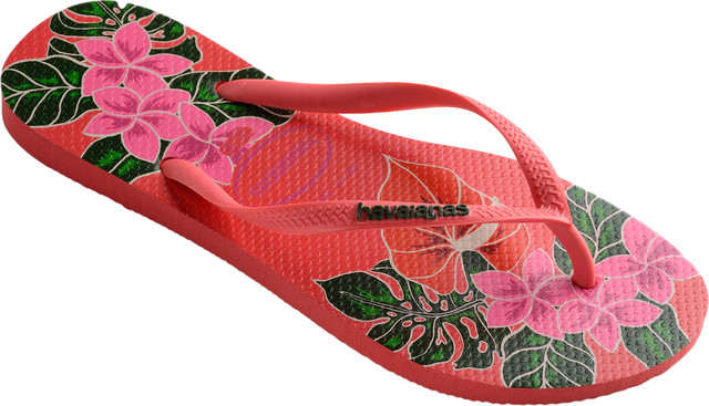 Japonki Havaianas  <br/><small>SLIM FLORAL CORALNEW </small>  H4129848-6024P