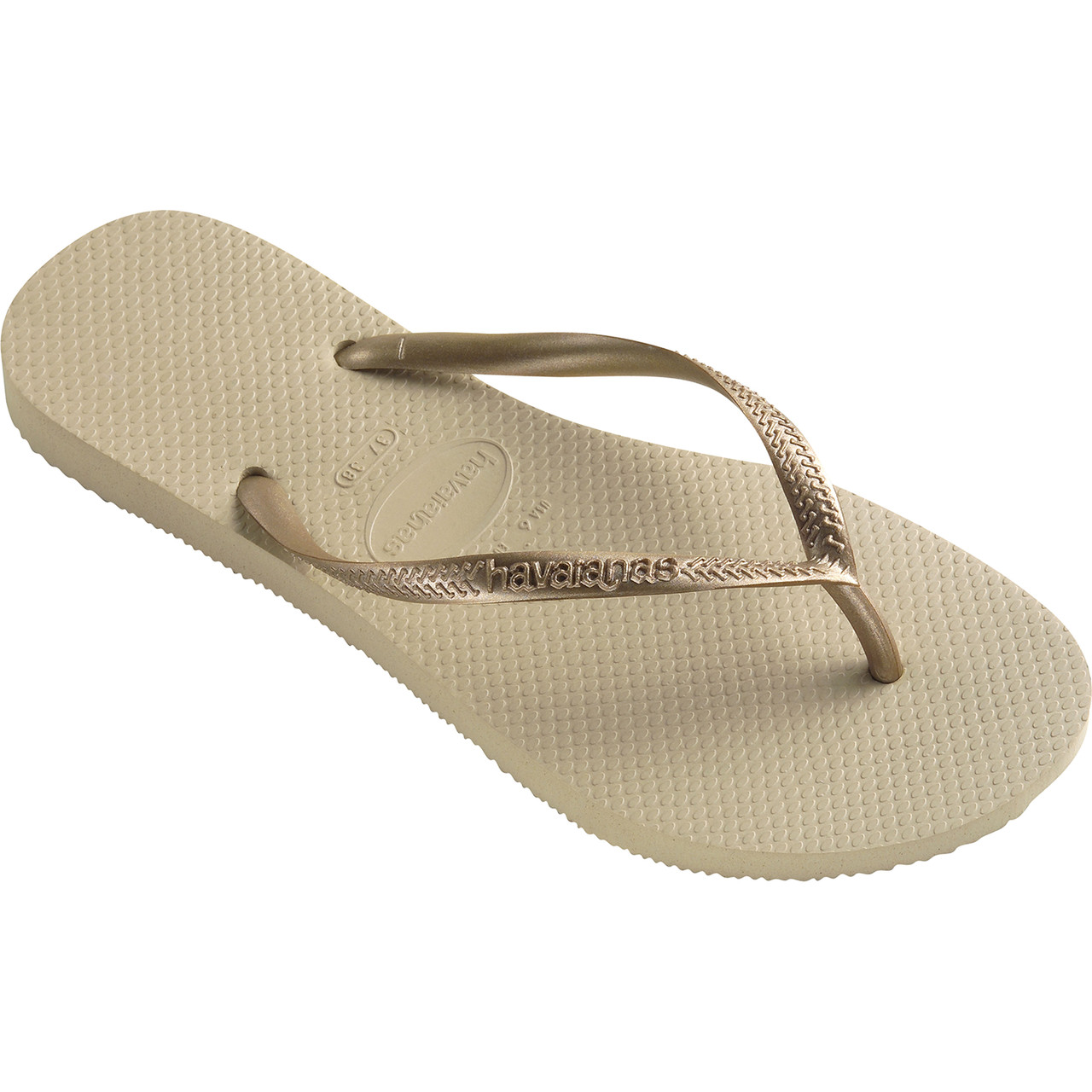 Japonki Havaianas  <br/><small>Slim Sand Grey Light Golden </small>  H40000302719
