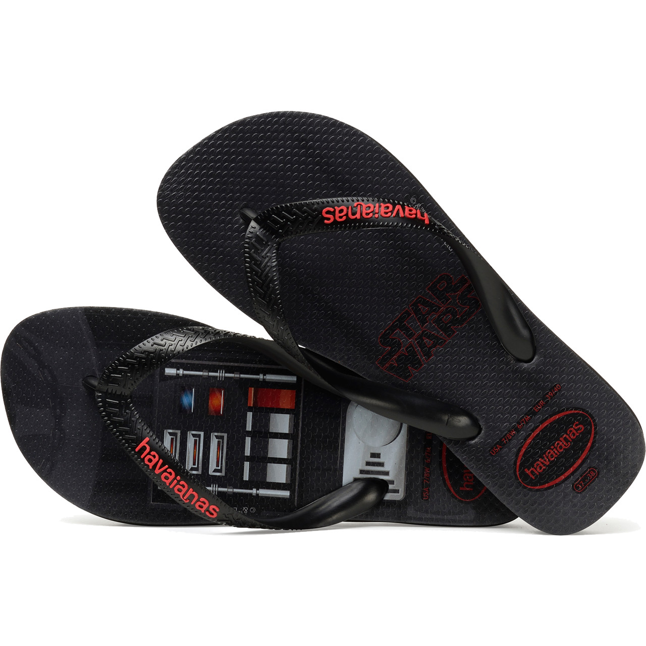 Japonki Havaianas  <br/><small>STAR WARS BLACK </small>  H4135185-0090P
