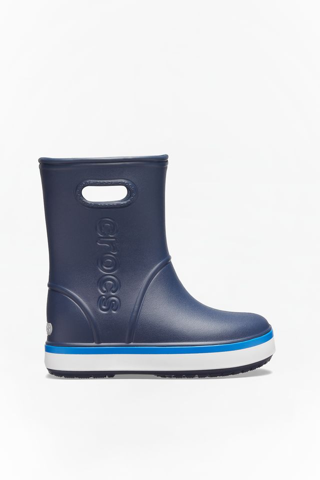 NAVY/BRIGHT COBALT CROCBAND RAIN BOOT KIDS 205827