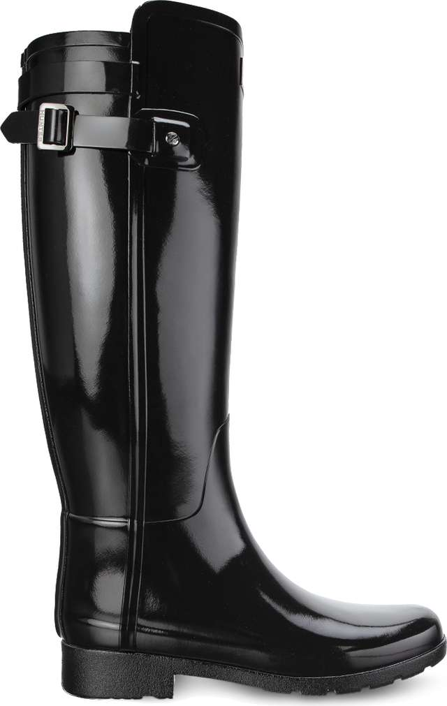 Kalosze Hunter  <br/><small>ORIGINAL REFINED BACK STRAP GLOSS BLACK </small>  WFT1074RGL