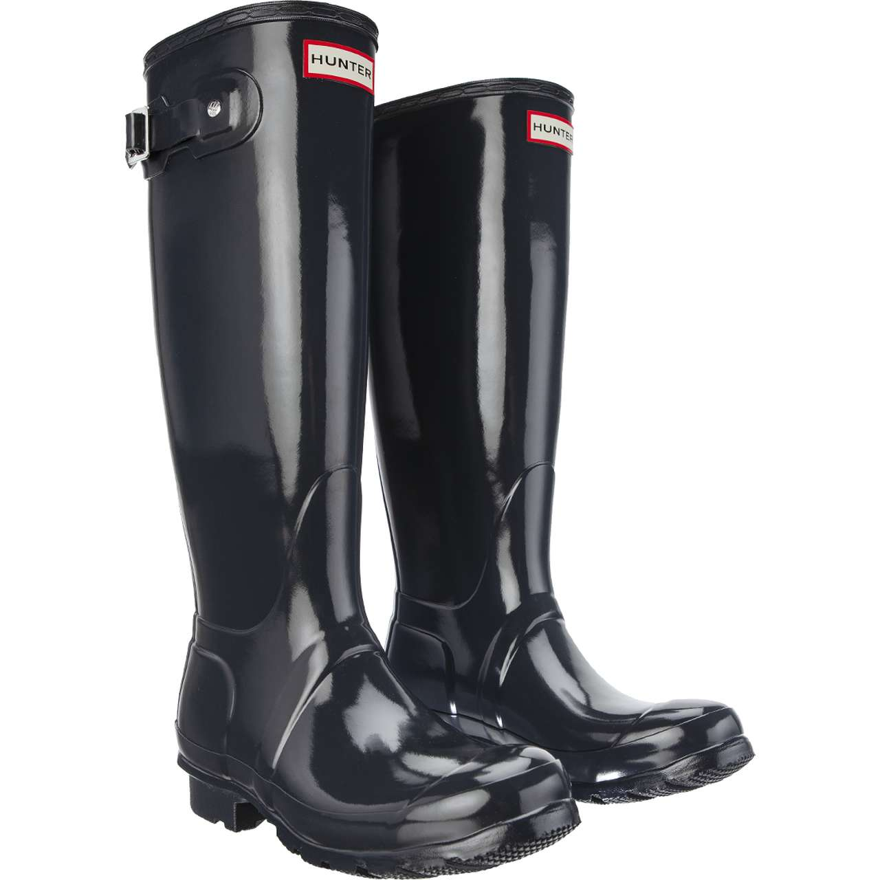 Kalosze Hunter  <br/><small>WOMEN'S ORIGINAL TALL GLOSS DARK SLATE </small>  WFT1000RGL