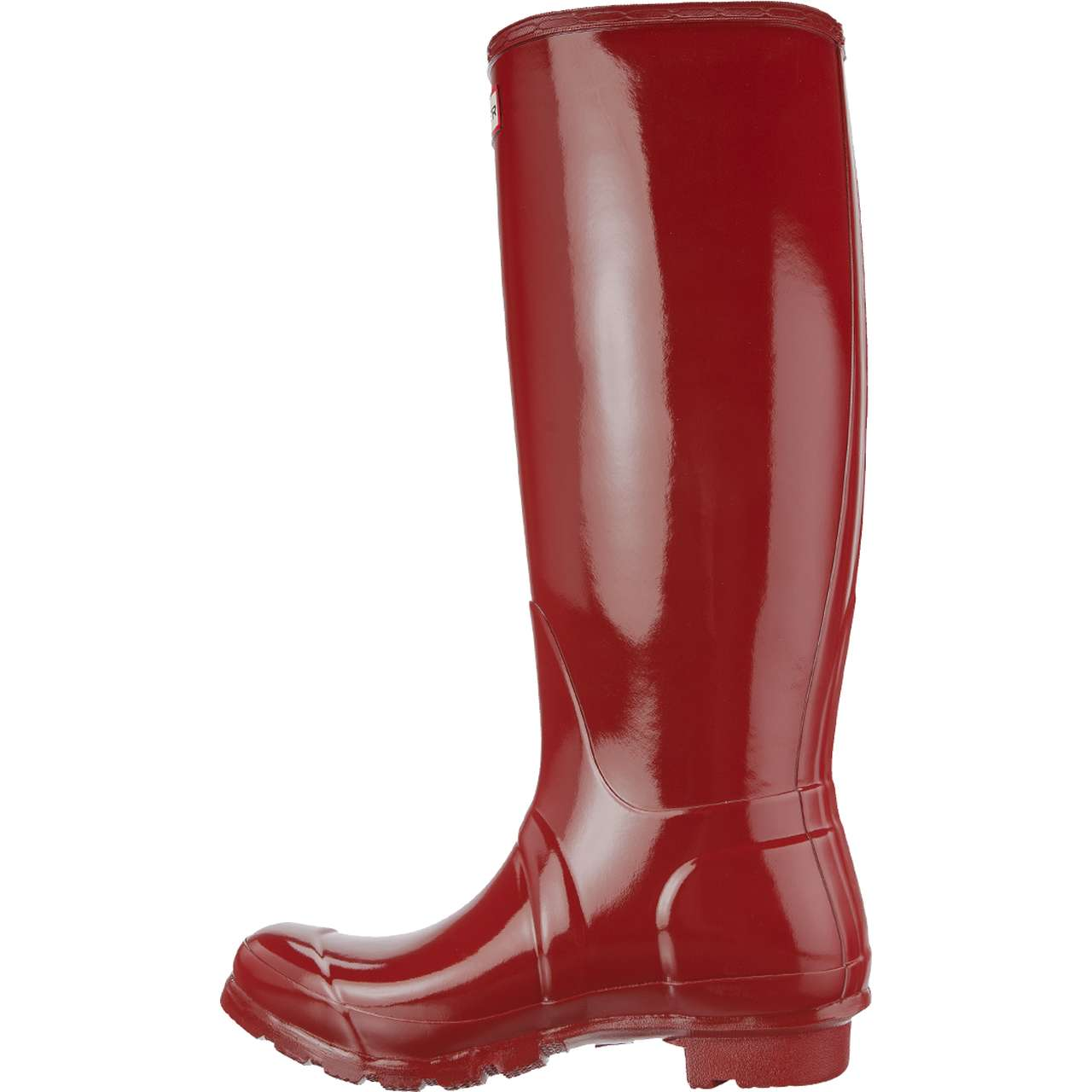 Kalosze Hunter  <br/><small>WOMEN'S ORIGINAL TALL GLOSS MILITARY RED </small>  WFT1000RGL