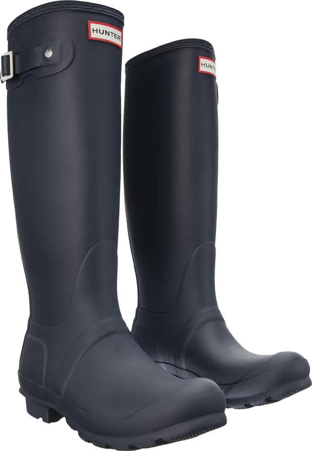 Hunter WOMEN'S ORIGINAL TALL NAVY WFT1000RMA
