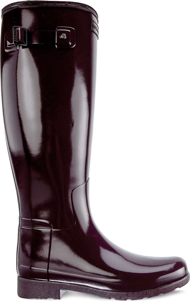 Kalosze Hunter  <br/><small>WOMEN'S ORIGINAL REFINED TALL OXBLOOD </small>  WFT2004RGL