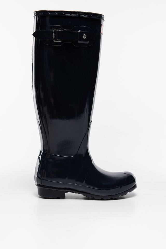 Hunter WOMEN'S ORIGINAL TALL GLOSS NAVY WFT1000RGL