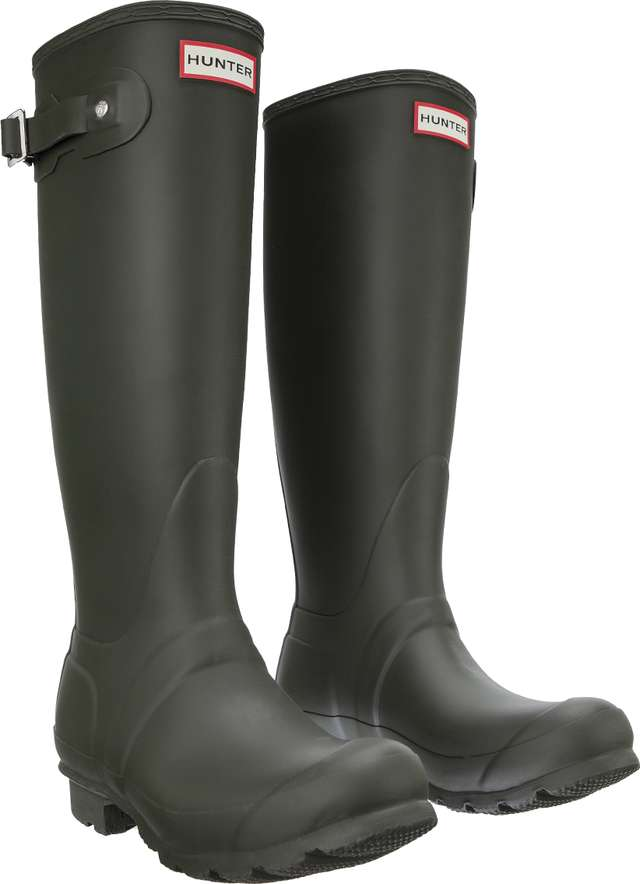 Hunter Womens Original Tall Dark Olive WFT1000RMA