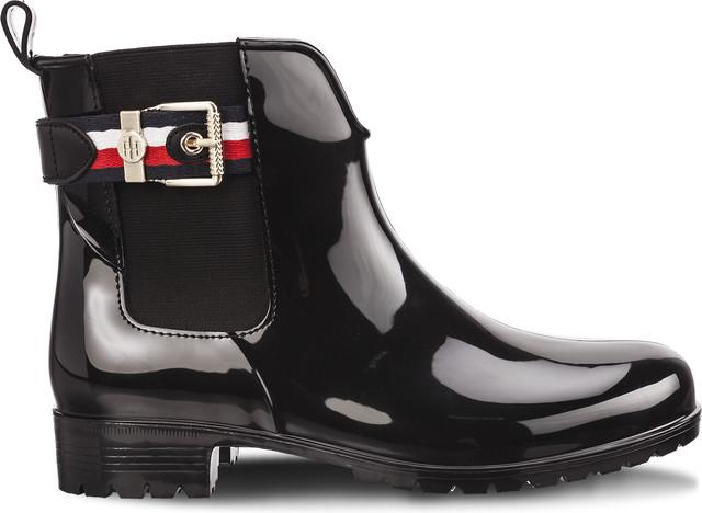 Tommy Hilfiger CORPORATE BELT RAIN 990 BLACK FW0FW03329-990