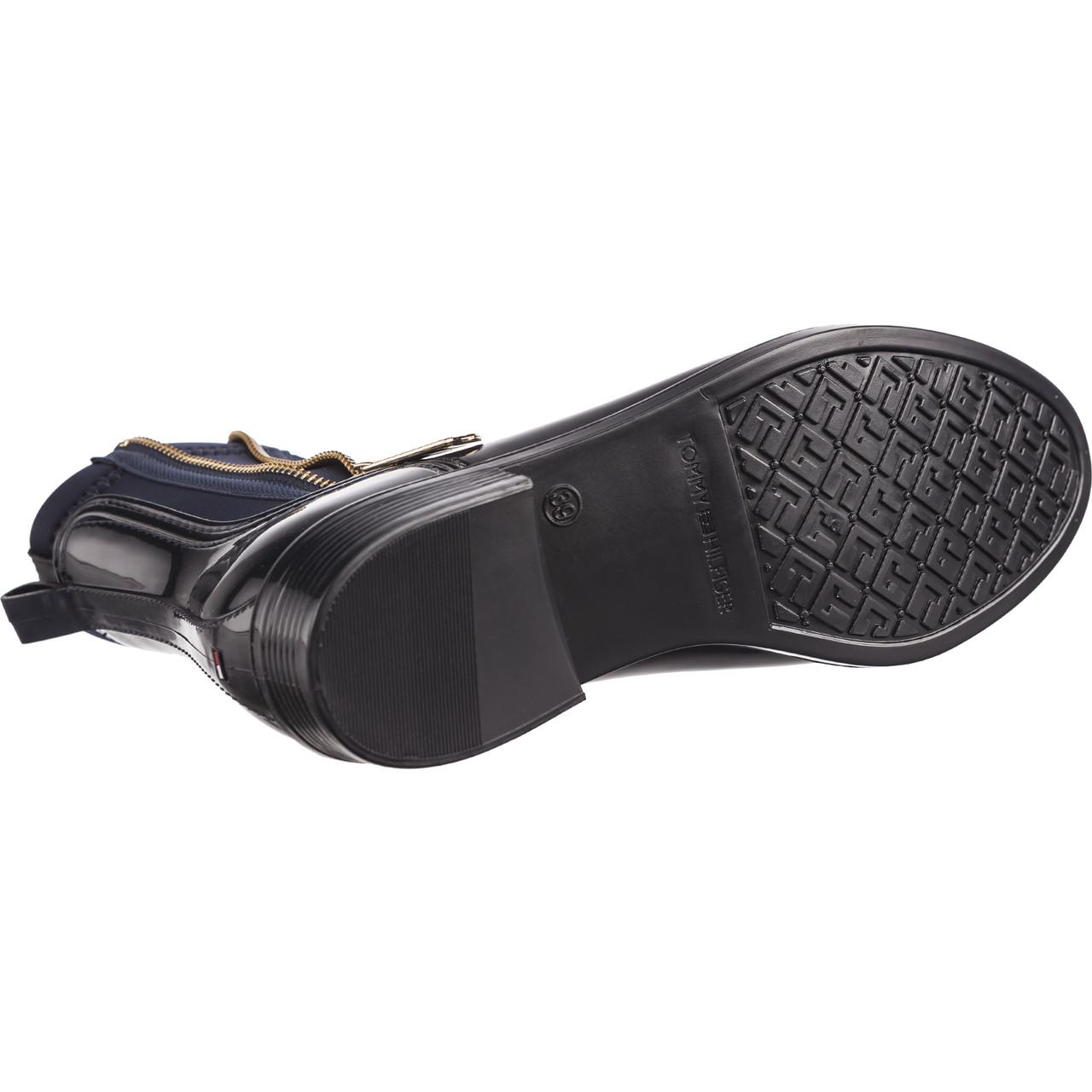Kalosze Tommy Hilfiger Material Mix Rain Boots 403