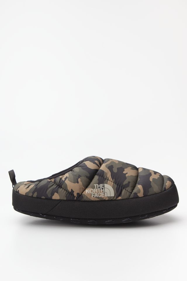 The North Face NSA TENT MULE III BRIGHT OLIVE GREEN WOODLAND CAMO PRINT/TNF BLACK T0AWMGFQ3
