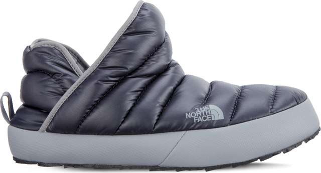 The North Face MEN'S THERMOBALL TRACTION BOOTIE 090 SHINY BLACKENED PEARL/GRIFFIN GREY T93MKH5QV