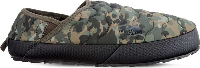 The North Face MEN'S THERMOBALL TRACTION MULE IV 090 TARMAC GREEN MACROFLECK PRINT/TUMBLEWEED GREEN T9331E5QU