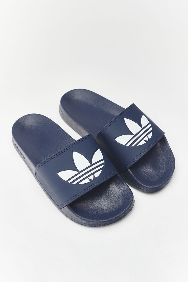 COLLEGIATE NAVY/CLOUD WHITE/COLLEGIATE NAVY ADILETTE LITE 299