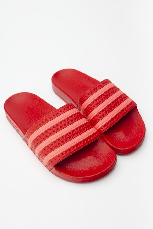 adidas ADILETTE W 185 SCARLET/FLASH RED/SCARLET EE6185