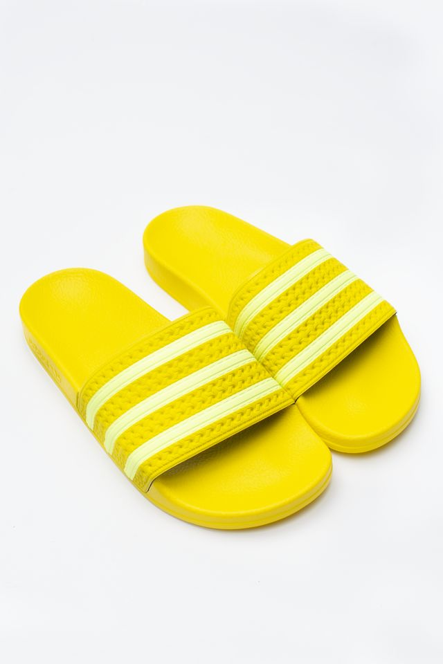 adidas ADILETTE W 449 YELLOW/SEMI FROZEN YELLOW/YELLOW EE7449