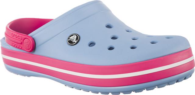 Crocs CROCBAND CHAMBRAY BLUE/PARADISE PINK 11016-H40