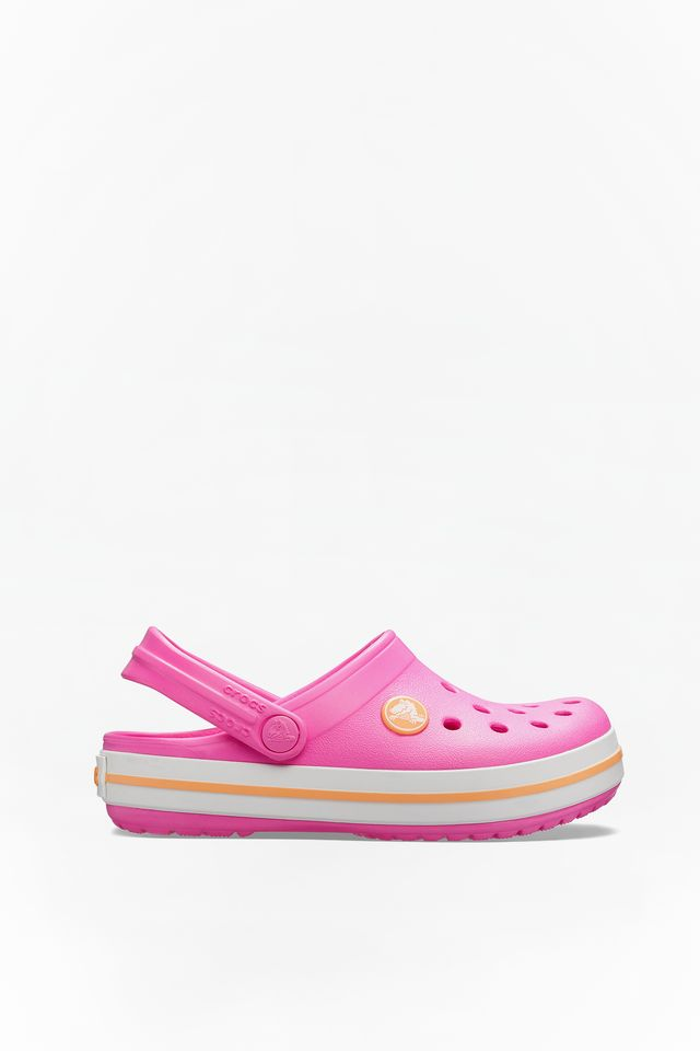 PINK CROCBAND CLOG K ELECTRIC 537