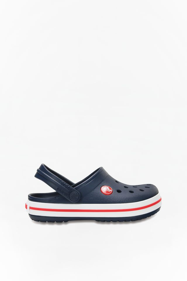 Crocs CROCBAND CLOG KIDS 485 NAVY/RED 204537-485