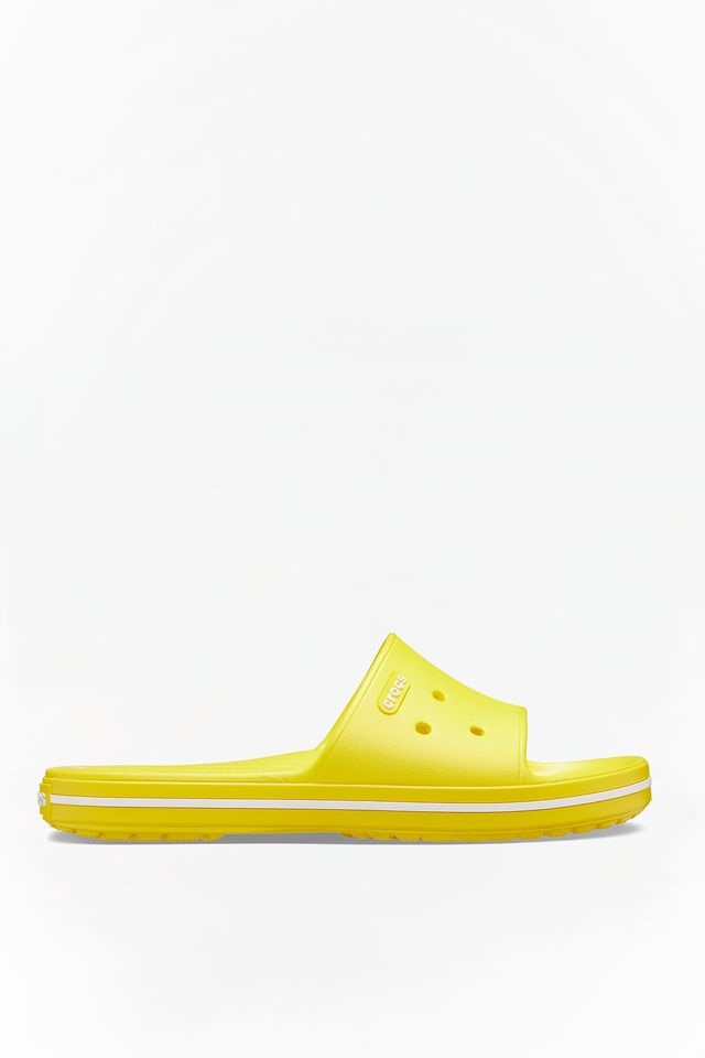LEMON/WHITE CROCBAND III SLIDE 7B0
