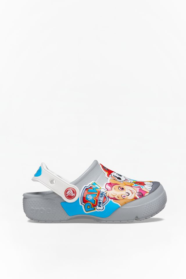 LIGHT GRAY FUN LAB PAW PATROL CLOG KIDS 007