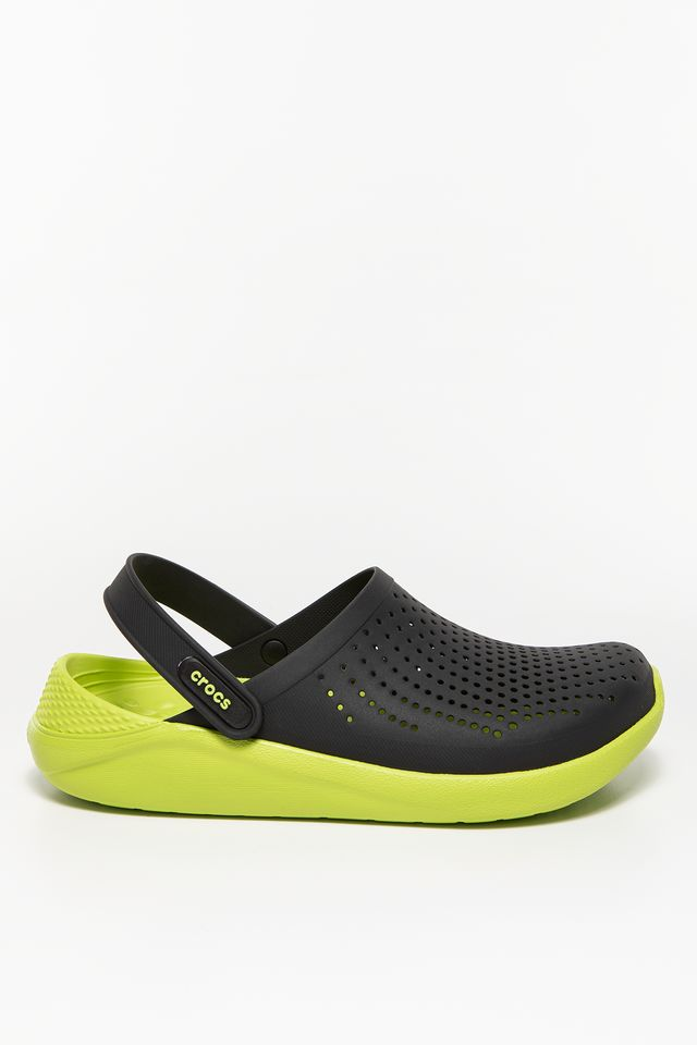 BLACK/LIME PUNCH LITERIDE CLOG BLACK/LIME PUNCH
